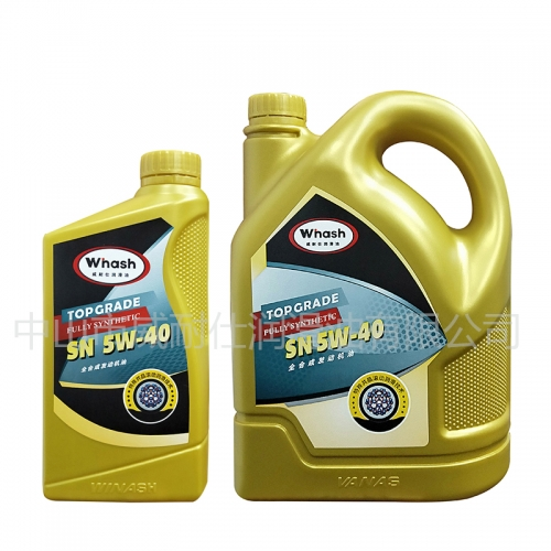 Fully synthetic engine oil